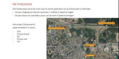 Landmeter-dronepiloot Oosterweelwerf